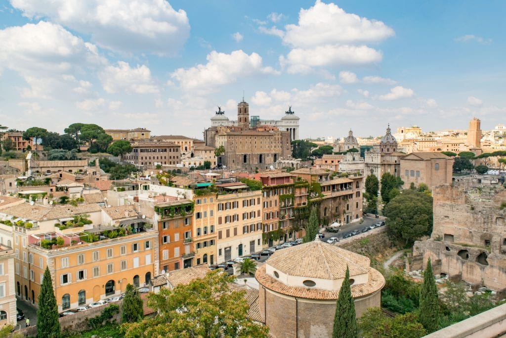 2 Days in Rome: View of Rome
