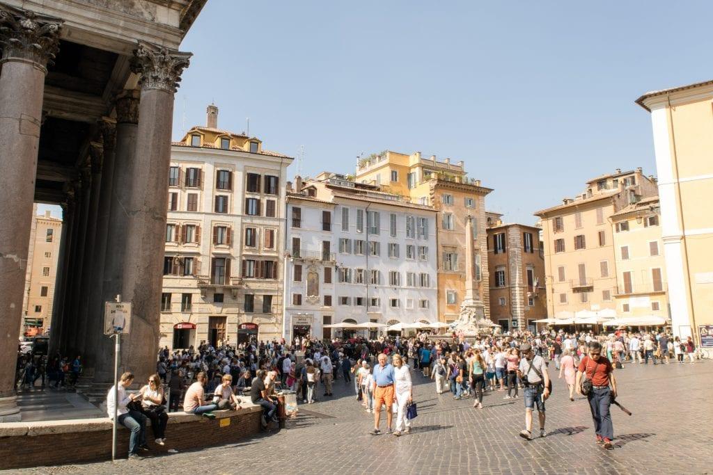 2 Days in Rome: Piazza della Rotonda
