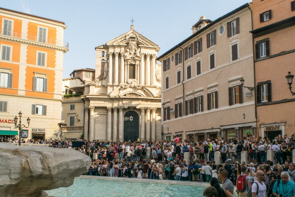 2 Days in Rome: Trevi Fountain