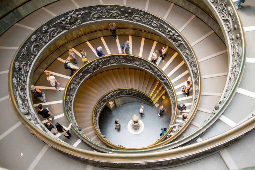 2 Days in Rome: Vatican Museums Spiral Staircase