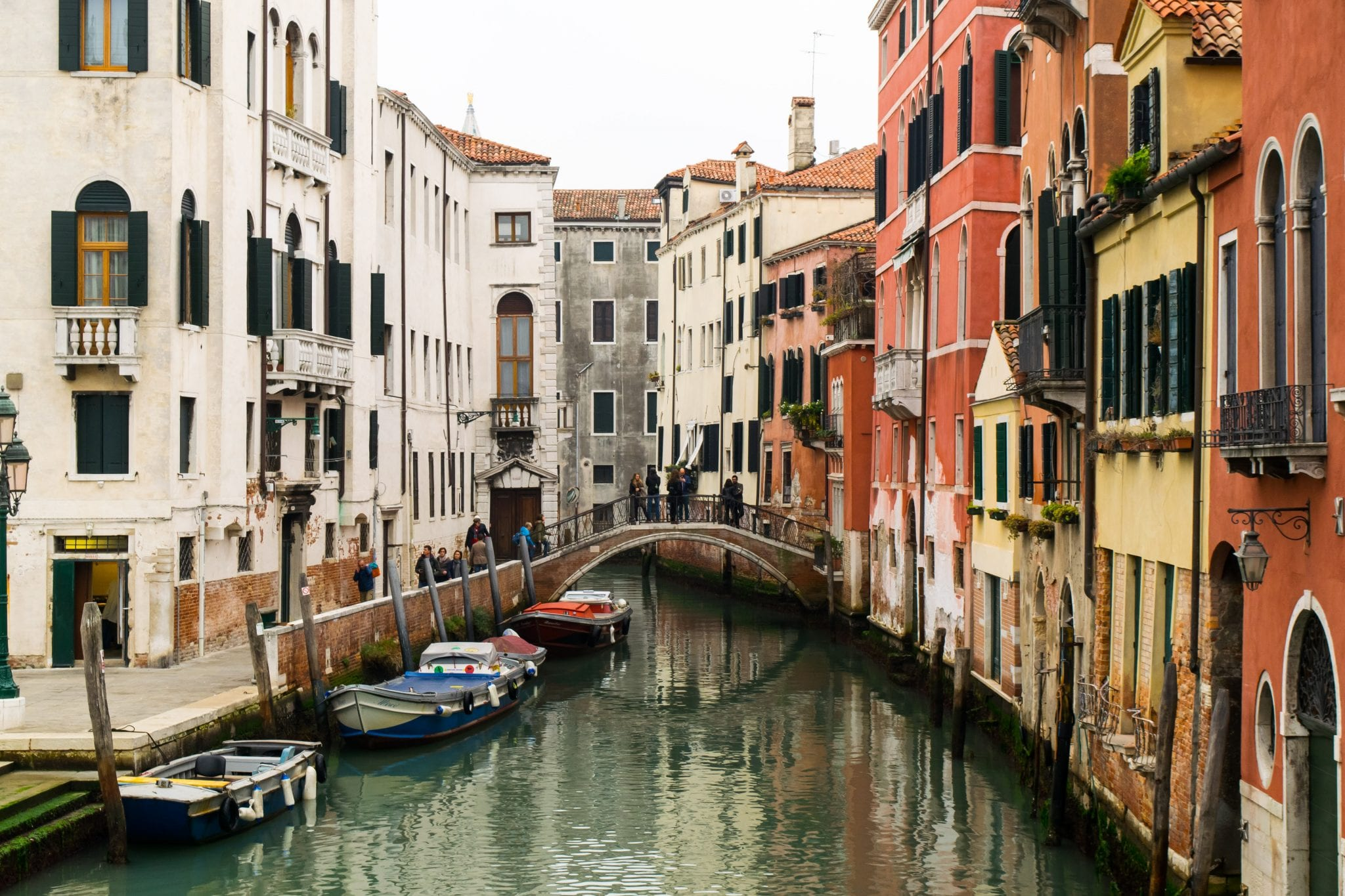 3 Days in Venice in November: Canal View