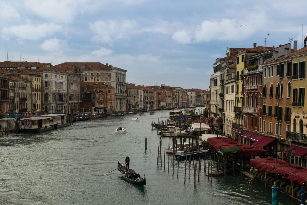 3 Days in Venice in November: Grand Canal