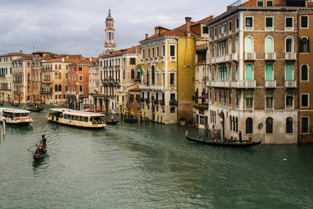 Best Books About Italy: Venice Grand Canal