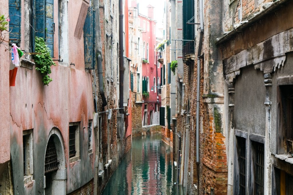 3 Days in Venice in November: Small Canal