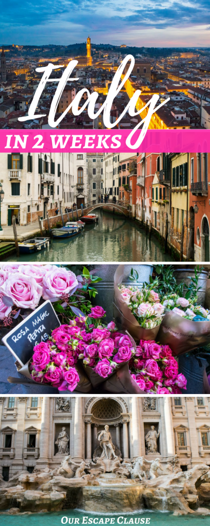 2 Weeks in Italy Itinerary