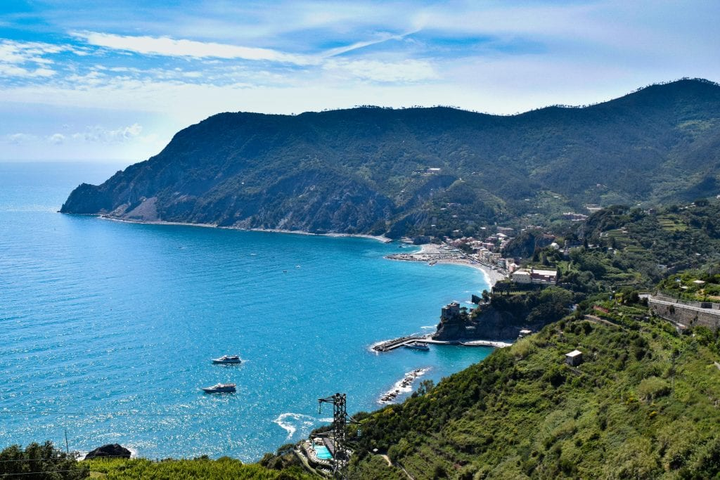 2 Weeks in Italy Itinerary: Overlooking Monterosso al Mare