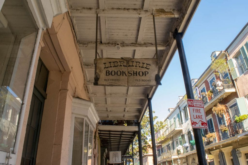 New Orleans Bookstores: Librairie Book Shop