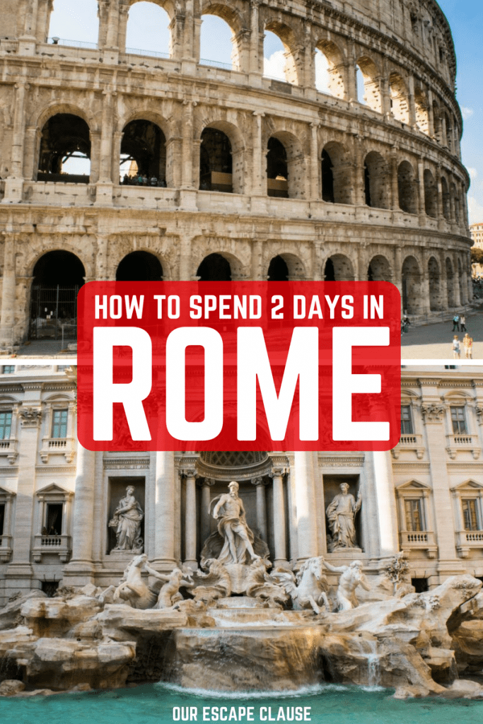 Ultimate 2 Days in Rome Itinerary: #rome #italy #travel #eternalcity