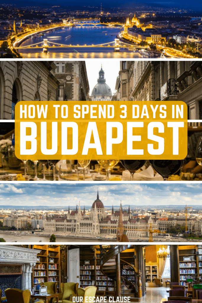 Epic 3 Days in Budapest Itinerary: #budapest #hungary #europe #travel