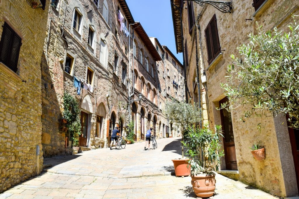 Honeymoon in Tuscany: Streets of Volterra