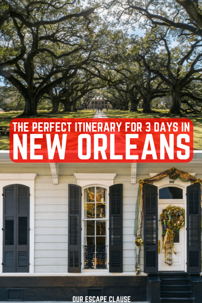 Ultimate 3 Days in New Orleans itinerary: #neworleans #nola #louisiana #travel #usa #roadtrip