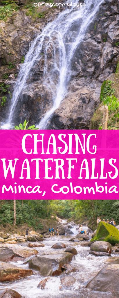 Marinka Falls & Pozo Azul Minca, Colombia