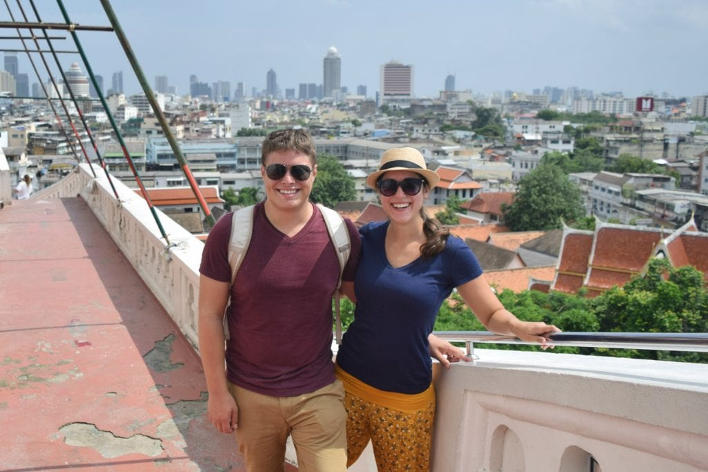 Travel Couple in Bangkok, Thailand