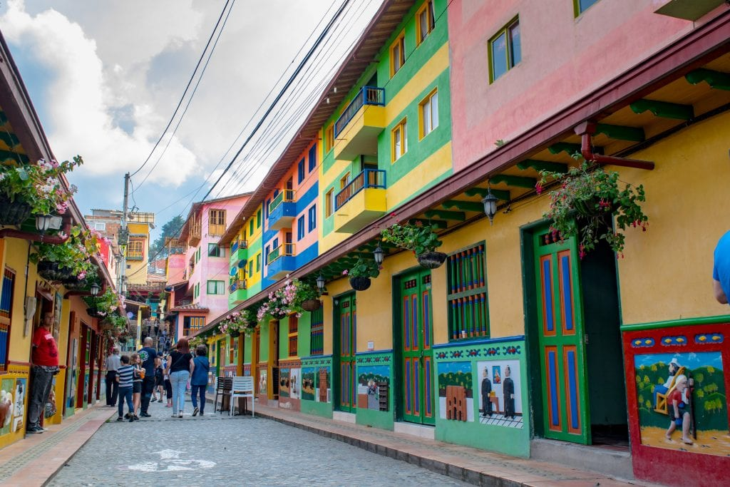 Tips for Airbnb Hosts: Streets of Guatape