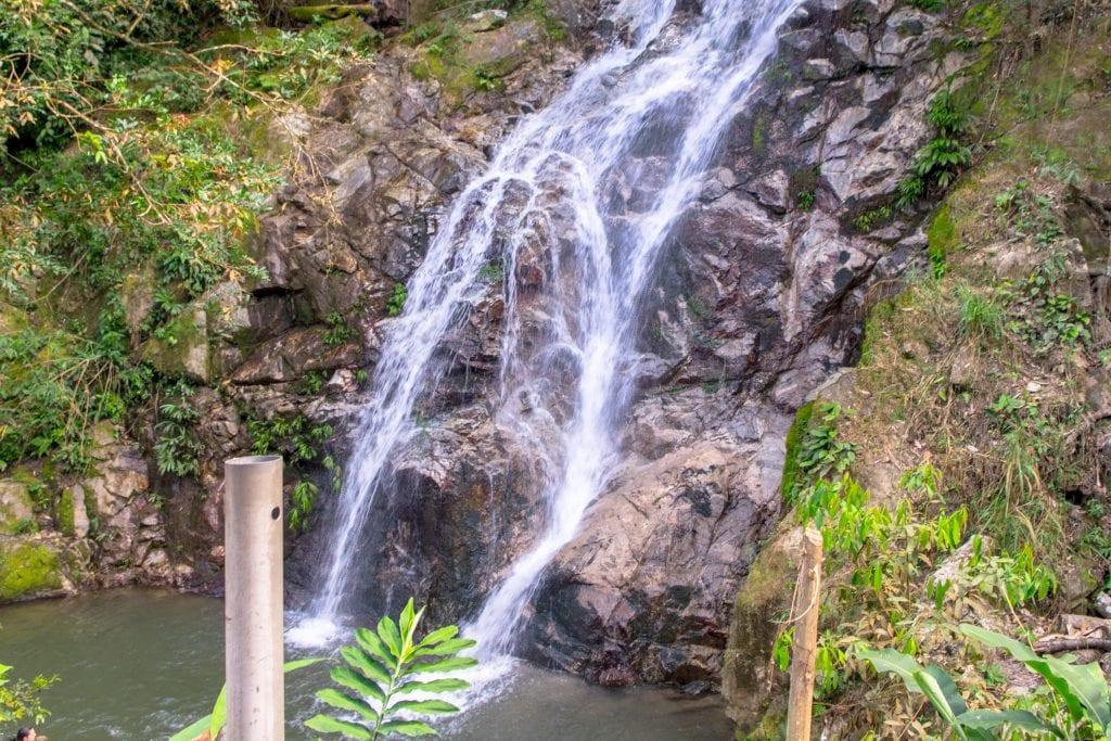 Marinka Falls in Minca, Colombia