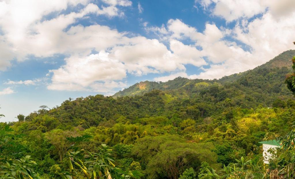 Hiking to Pozo Azul Minca, Colombia