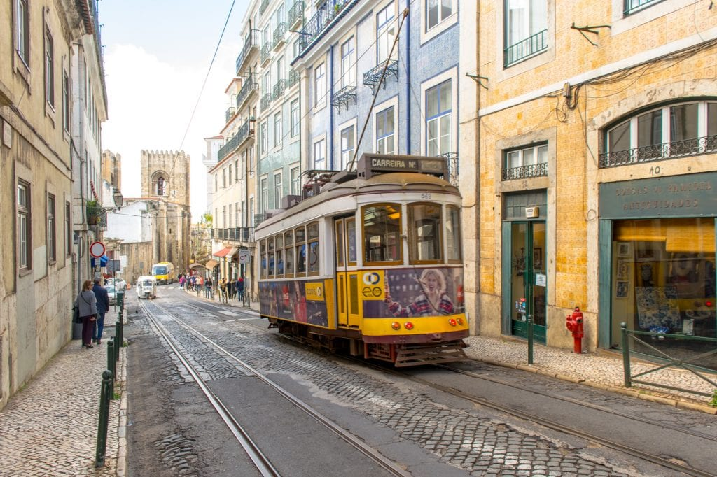 Tips for Airbnb Hosts: Tram Car in Lisbon