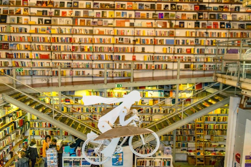 Ler Devagar Bookstore in Lisbon Portugal