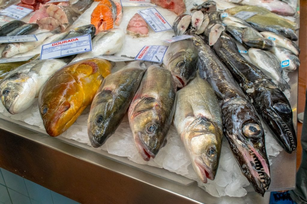 Campo de Ourique Food Market: Fish