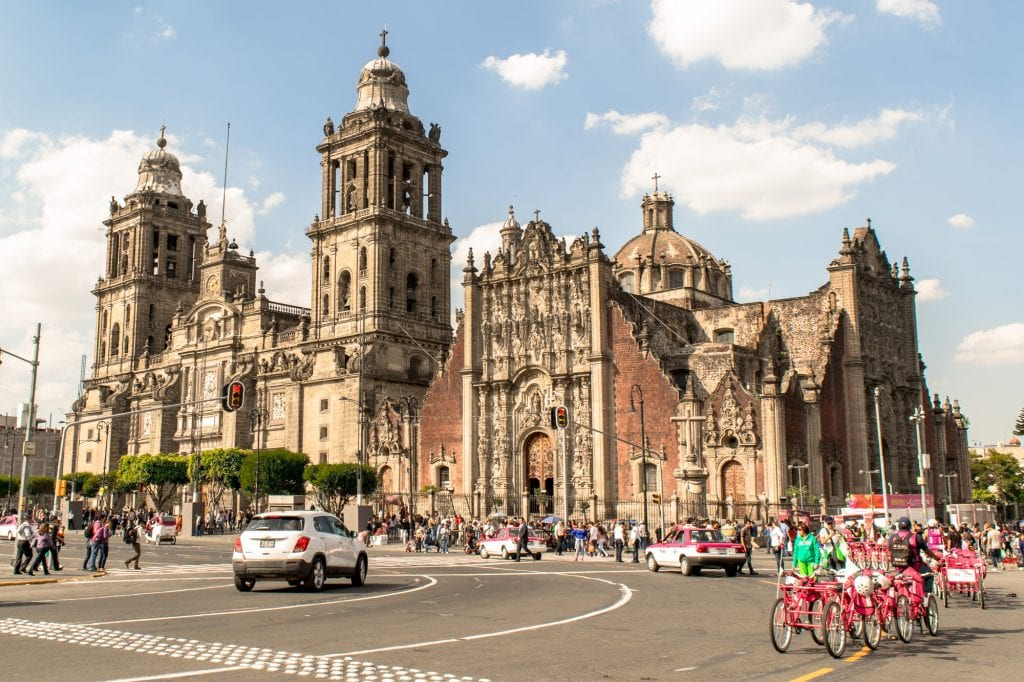 3 Days in Mexico City Itinerary: Metropolitan Cathedral