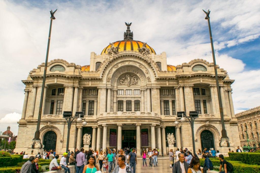 3 Days in Mexico City Itinerary: Palacio Bellas Artes