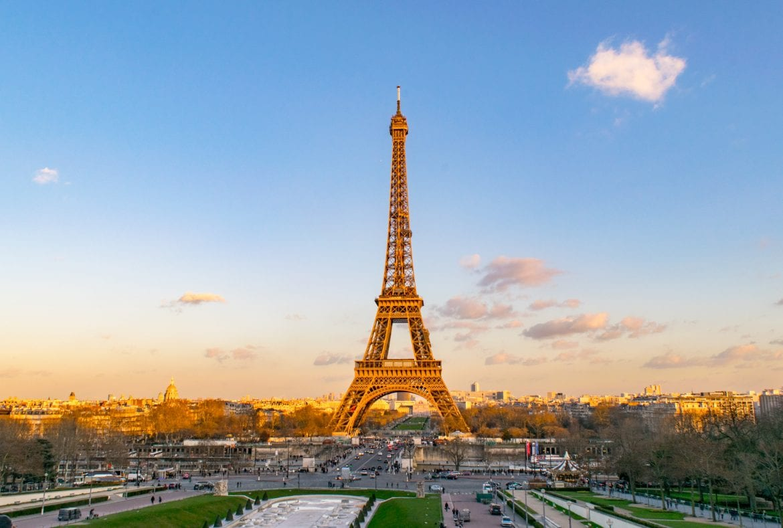3 Days in Paris Itinerary: Eiffel Tower from Trocadero Gardens