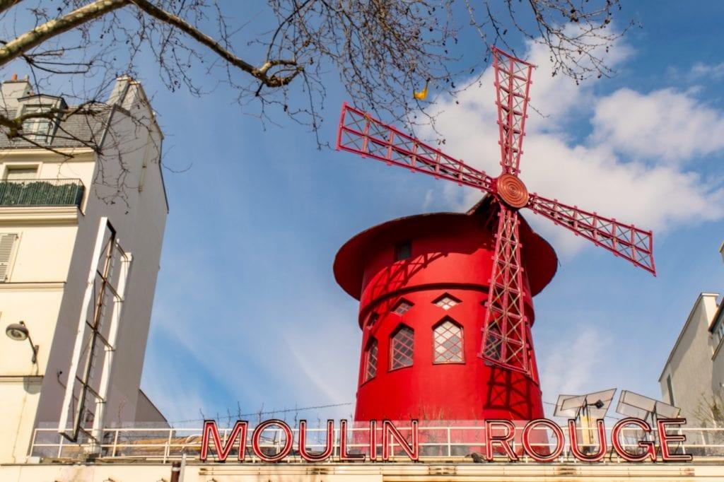 Paris in the Winter: visit Moulin Rouge