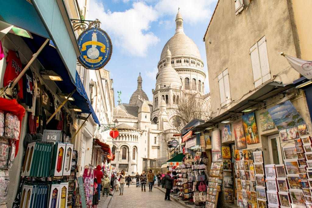 3 Days in Paris Itinerary: Sacre Coeur