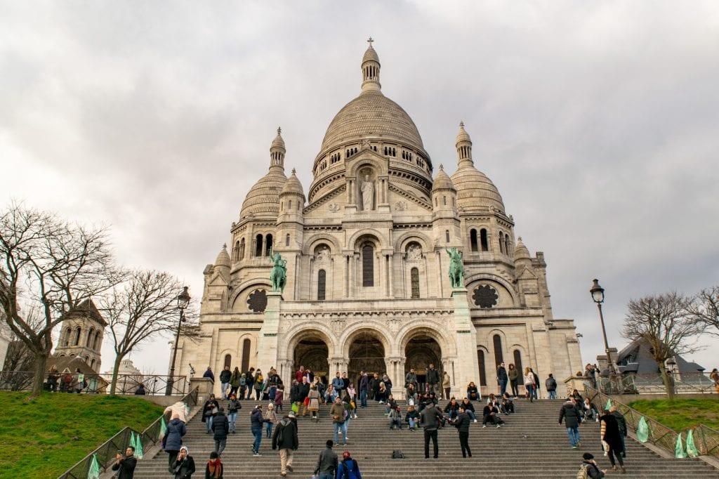 Paris vs Rome: Sacre Coeur