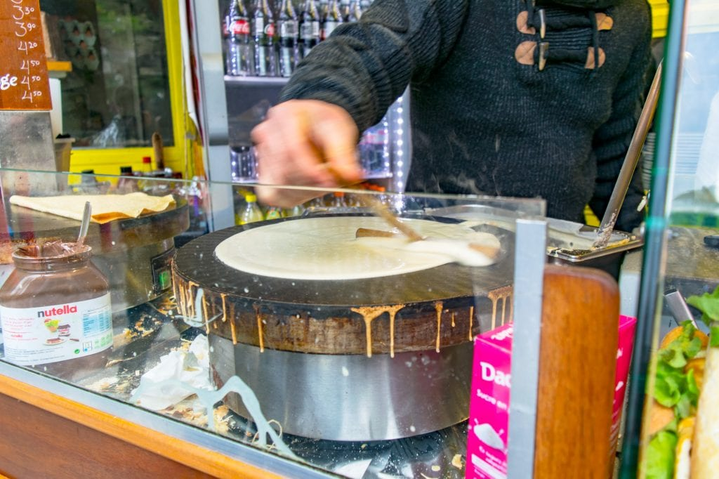 Paris in Winter: Warm up with Crepes!