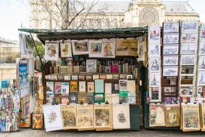 Second Trip to Paris: Books on Banks of the Seine