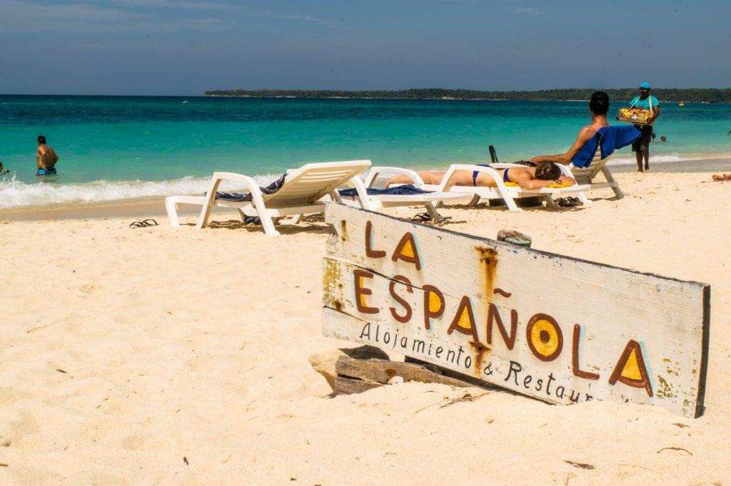 Playa Blanca, Cartagena: La Espanola Cafe