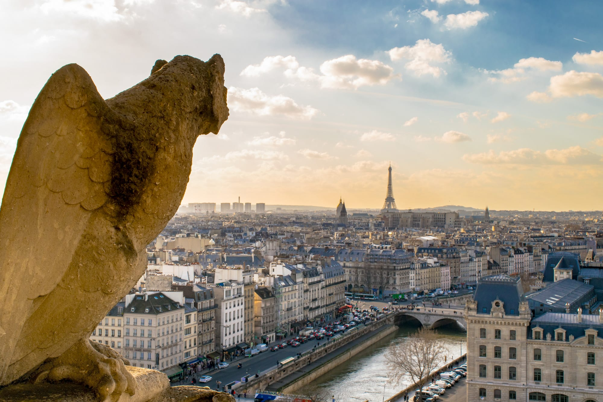 3 Days in Paris Itinerary: View from Notre Dame