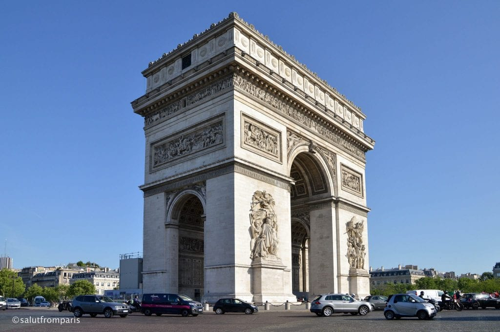 Paris in 3 Days Itinerary: Arc de Triomphe