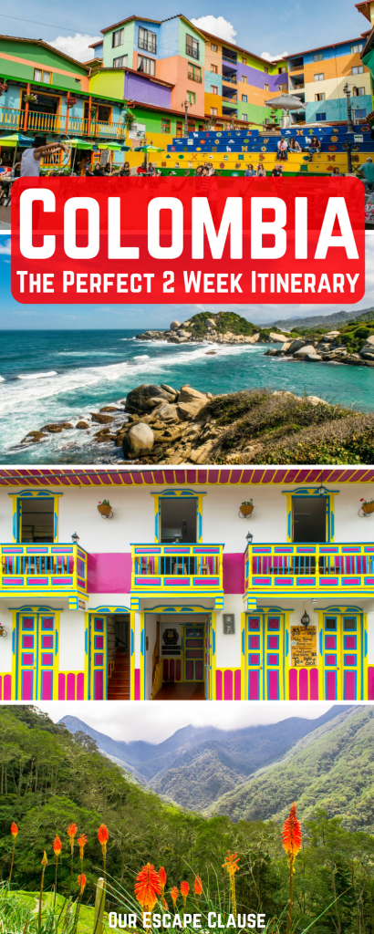 2 Weeks in Colombia: 14 Day itinerary for First Time Visitors