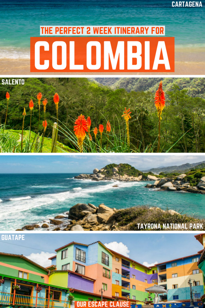 The Ultimate 2 Weeks in Colombia Itinerary: #colombia #southamerica #latinamerica #travel #backpacking