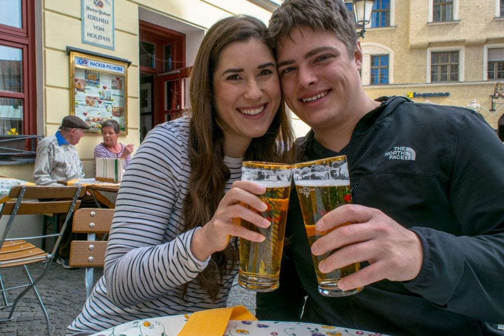 Central Europe Itinerary: Couple in Munich, Germany