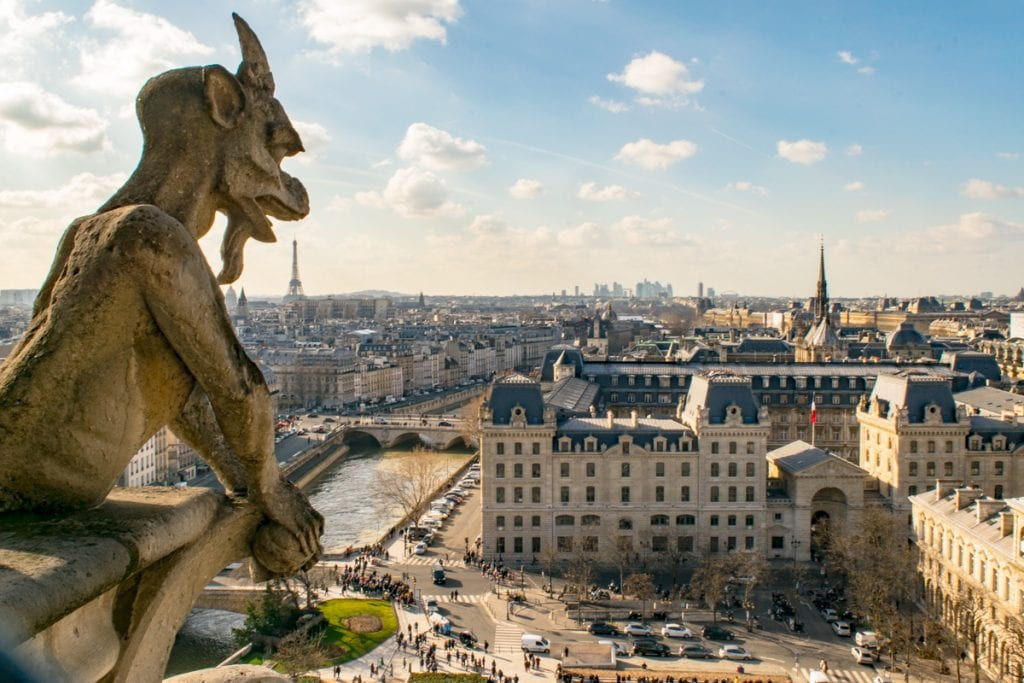 3 Days in Paris Itinerary: Notre Dame View