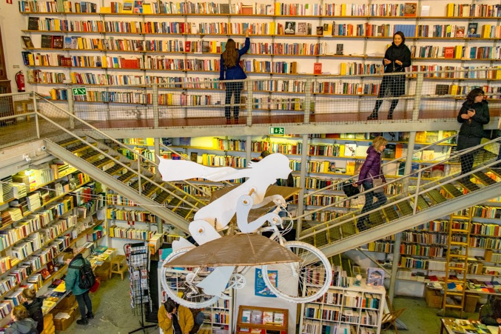 4 Days in Lisbon: Ler Devagar Bookshop LX Factory