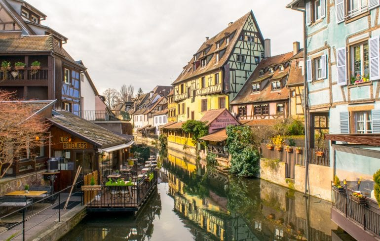 View of Colmar, France: how to choose to visit France or Italy