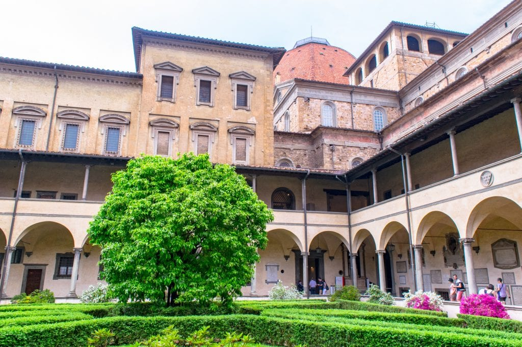 Fun Things to Do in Florence: Laurentian Library