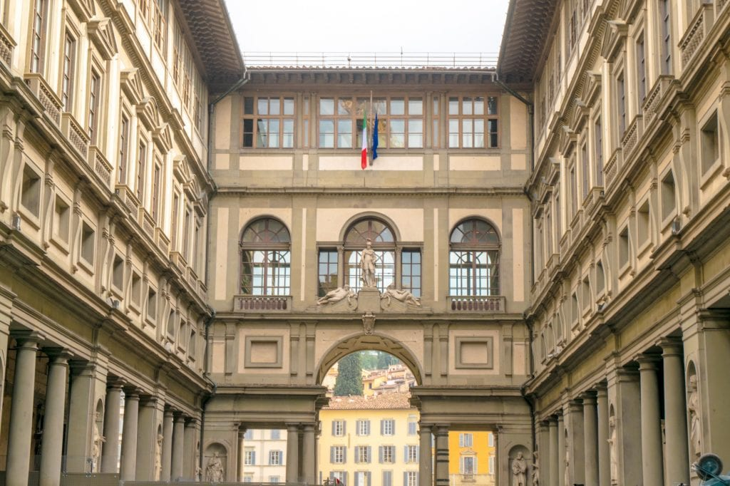 Fun Things to Do in Florence: Uffuzi Gallery