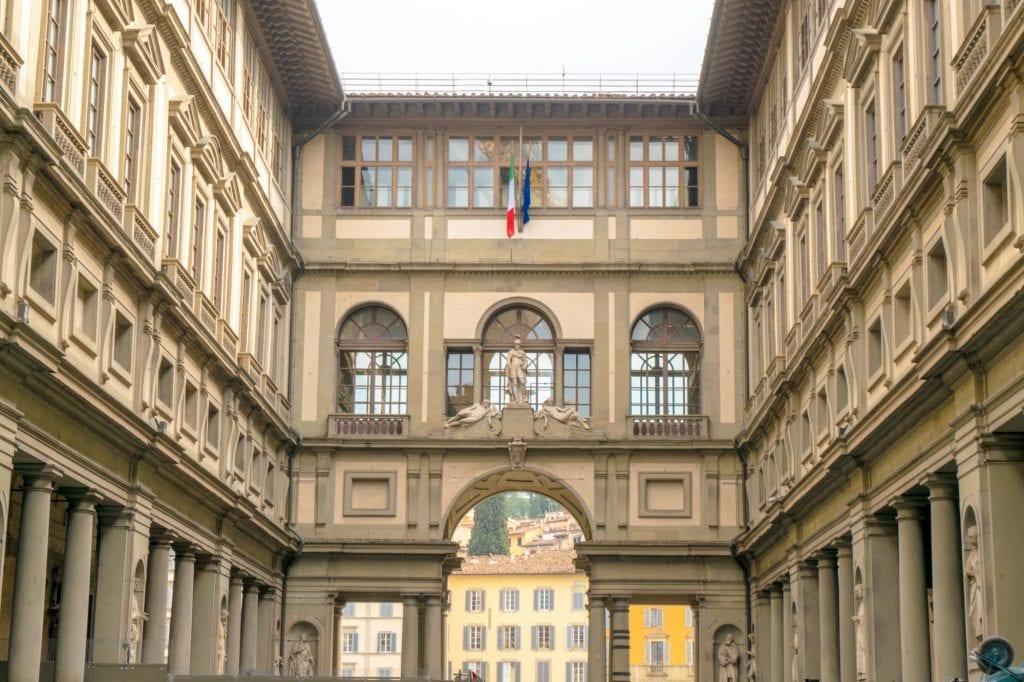 Fun Things to Do in Florence: Uffuzi Gallery