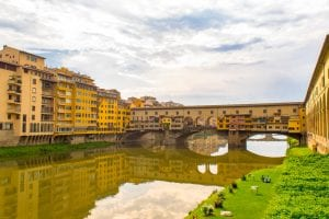 One Day in Florence: View of Ponte Vecchio