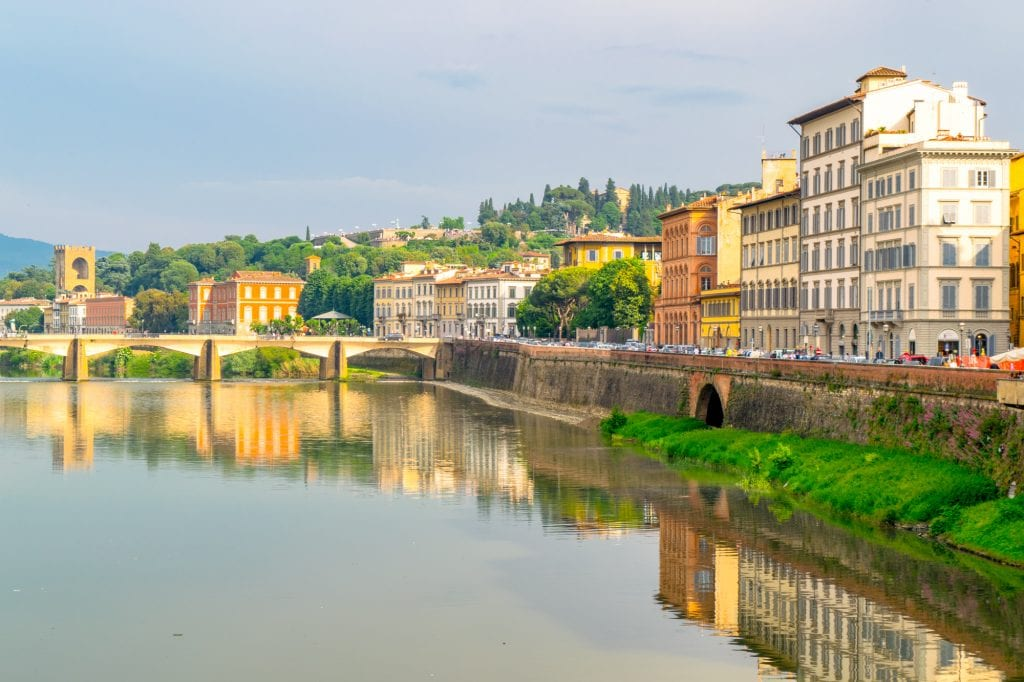 One Day in Florence: Reflections in Arno River