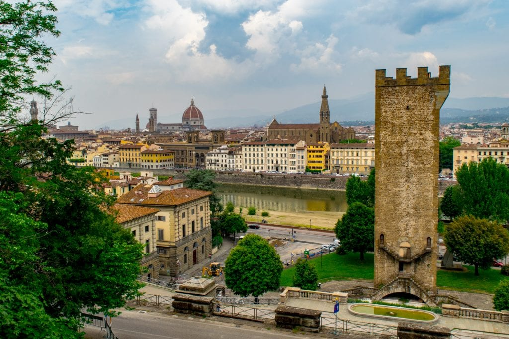 Best Things to Do in Florence: San Niccolo Tower