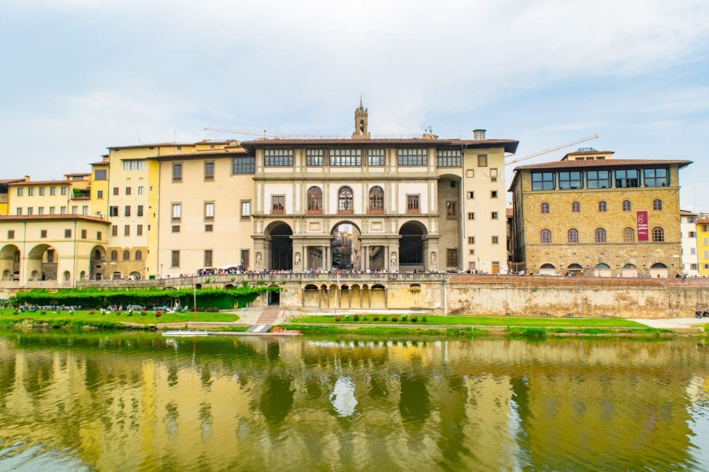 One Day in Florence: View from Arno River