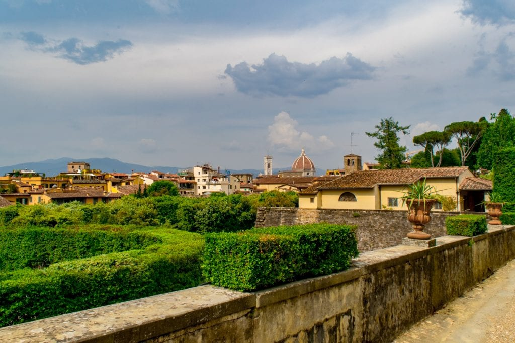 Best Views of Florence: Boboli Gardens