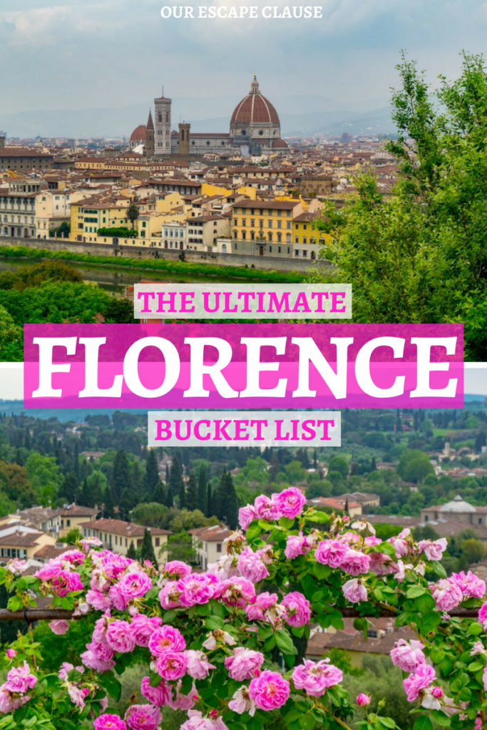 Fun Things to Do in Florence: Florence Bucket List
