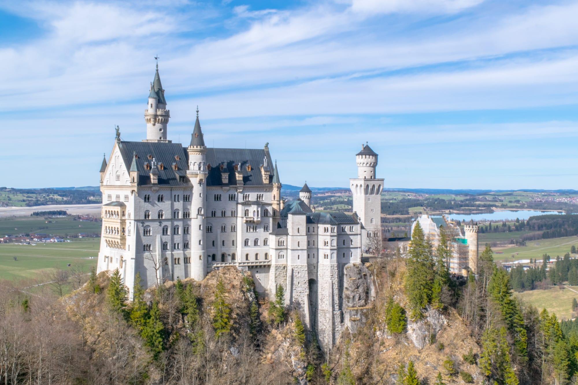 Munich to Neuschwanstein Castle Day Trip: View from Marienbrucke